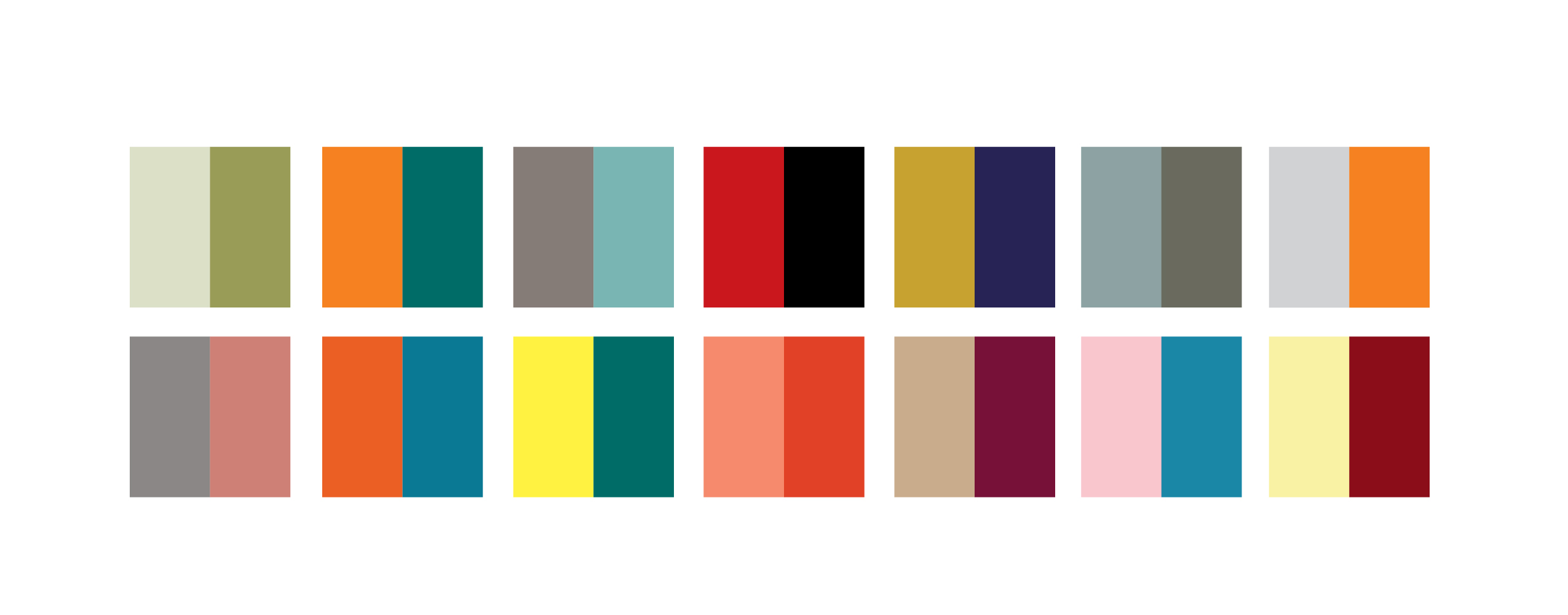 Color Combinations color combinations we love
